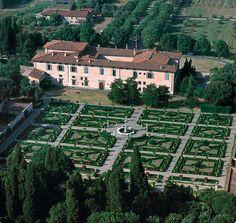 Villa Medicea di Castello (Firenze) #TuscanyAgriturismoGiratola