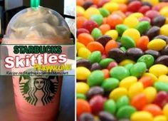 Skittles Frappuccino | Starbucks Secret Menu