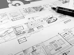 Layout Sketches  by Andrew Edwards
