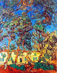 Grounds of the Asylum, Vincent van Gogh 1889 pic.twitter.com/AMHqQe7s3Q