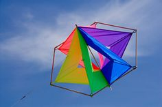 Butterfly kite diy instructions this one of the for Tetrahedron kite template