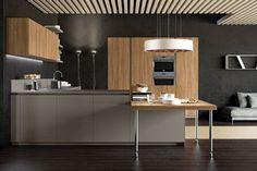 BS 09 | Cucina con Penisola in Laminato