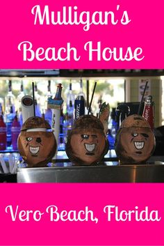 Mulligan's is a great place to dine oceanfront in Vero Beach, Florida. The portions are huge, views fantastic, and the menu has something for everyone. Beach Fun, Beach Trip, Vacation Trips, Beach Travel, Vacations, Vero Beach Disney, Vero Beach Florida, Florida Travel, Travel Usa
