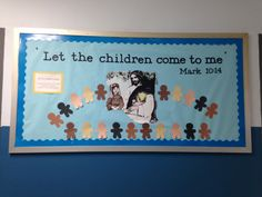 Let the children come to me bulletin board