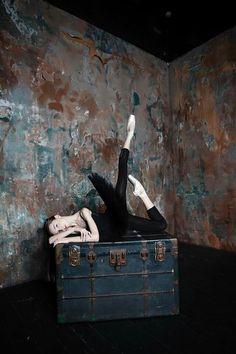 Arina Dubkova, student at Bolshoi Ballet Academy
