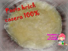 pasta brick casera
