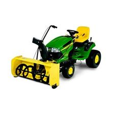 """Momma bought Pappa a new toy for our anniversary!John Deere Snowblower Attachment 