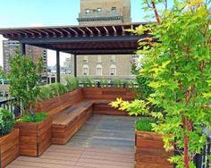 Diy Pergola, Deck With Pergola, Diy Deck, Backyard Pergola, Roof Deck, Pergola Ideas, Backyard Ideas, Decking Ideas, Pergola Roof