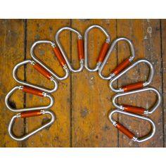 Giant #Carabiners - #Vintage Objects - Pedlars Vintage #swissarmy #storage