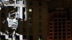 IDENTIDADE | facade projection. Video by urbanscreen. nMe gusta mucho el montaje de este Mapping