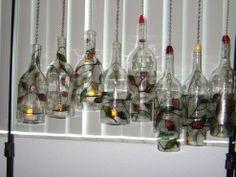 Hometalk :: My New Craft ~ WineChimes and Glow