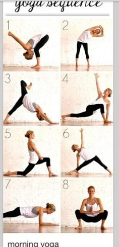 Morning Yoga exercises
