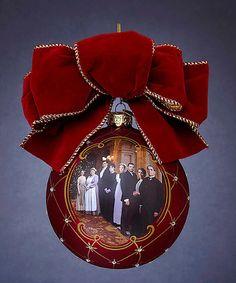 Downton Abbey Glass Ball Ornament