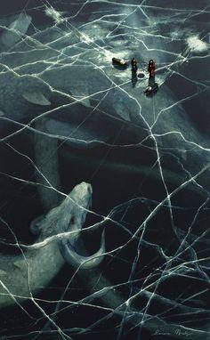 painting dark artwork traditional art fantasy surrealism surreal fantasy art nimbus2005