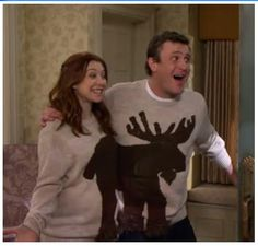 moose sweaters!
