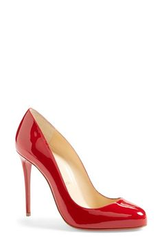 Christian+Louboutin+'Dorissima'+Round+Toe+Pump+available+at+#Nordstrom
