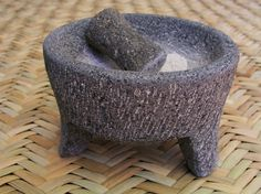 How to season a new Molcajete!  Not a recipe, but a great piece of info if you do any authentic Mexican cooking.