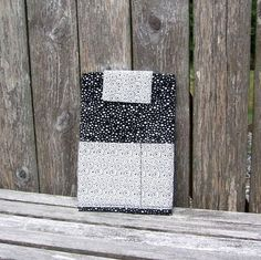 eReader Sleeve  fabric tablet case  Nook Color by SkinnyBugStudio