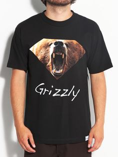 #Grizzly #Diamond Grizzly #Tshirt $29.99