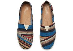 Show your stripes and your commitment to others. New TOMS Striped Classics make a statement while giving back.