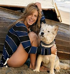 Jennifer and Norman | 16 Celebrities And Their Awesome Animal Sidekicks