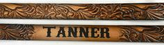 Child's Western Carved Name Belt Leather Belts, Kid Names, Gifts For Kids, Carving, Christmas Ideas, Spice, Sugar, Gift Ideas, Presents For Kids