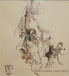 Horst Janssen, Sketchbooks, Masters, Graphic Art, Illustrations, Fine Art, Drawings, Ink, Sketches