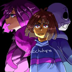 "cocochihiro: ""Glitchtale By @camilaart "" Oh this looks great"