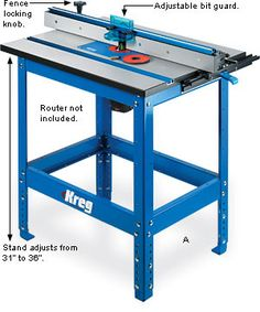Httpscrewfixpmakita p 66226 router table57490 kreg floor stand table lee valley tools keyboard keysfo Choice Image