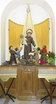 Saint Anthony Of Padua, Roman Catholic, Statues, Faith, Symbols, Projects, Saints, San Antonio, Ideas