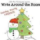 FREEBIE! A fun center to add to your holiday activities!Copy and post words around the room, students use the recording sheets to find the words, match the...