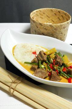 Thaicurry mit Rindfleisch und Kokosmilch Rezept