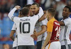 WATCH: Zlatan opens his Man Utd account with acrobatic goal