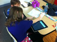 All 3rd graders had an iPad today and used @socrative to let me know who was ready to move on in math! They loved it!