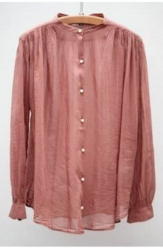 Rose Voile Shirt by Giada Forte