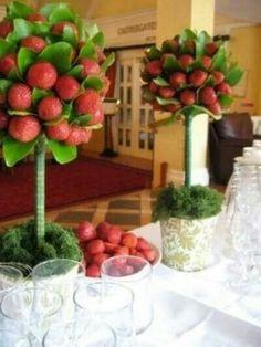 Topiario fresas