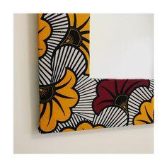 miroir 30x30cm + cadre 49x49cm #baadinyaa #homedecor #design #customised #travel #creation #unique #handmade #miroir #interiordesign #interior #homesweethome #handmade #artdeco #decorationinterieur #artisanat #faitmain #artisan #wax #pieceunique