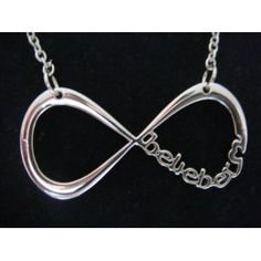 Justin Bieber - Belieber Infinity Necklace in Gift Bag - World Premier - Limited Stock: Amazon.co.uk: Toys & Games