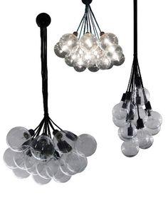 14 Pendant Cluster Industrial Chandelier Modern Globe Bubble – Hangout Lighting
