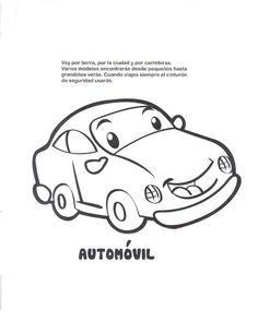 MEDIOS DE TRANSPORTE - Paulita 2 - Álbumes web de Picasa Coloring Books, Transportation, Preschool, Snoopy, Fictional Characters, Veronica, Healthy Recipes, Cars, Infants