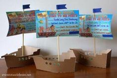 Fiesta jake y los piratas 91