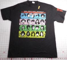 Medium Homme Rolling Stones Tour 78 Mens Blk TS T-Shirt Noir