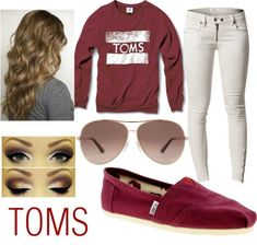 TOMS Outfit by badbecker on Polyvore