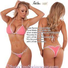 Competition Bikini! Fade Random Crystal Design Competition Suit NPC bikini, IFBB bikini, WBFF competition and so on... Model Kimberley Jade. Suits You Swimwear