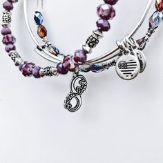 """""""You are loved."""" The perfect Mother's Day gift from ALEX AND ANI. Bracelet set of 3."""