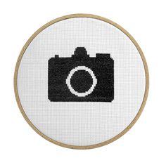 Issue 64 DIY: Camera Cross -Stitch