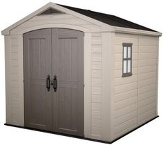 Factor 8x8 Shed | Storage Buildings by Keter Israel