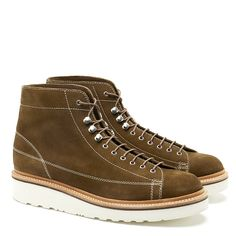 Grenson | 'Andy' Snuff Suede Monkey Boot | Brand Outlet