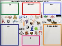 Sort pictures based on the end sound Core French, French Resources, French Immersion, Reading Intervention, Phonemic Awareness, Teaching French, Teacher Hacks, French Language, Speech And Language