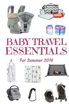 10 Baby Travel Essentials - tried, tested and recommended by a busy travelling family   http://BabyGlobetrotters.Net
